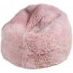 Pouf en Peau de Mouton ROSE