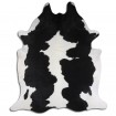Peau de vache Noire et blanche